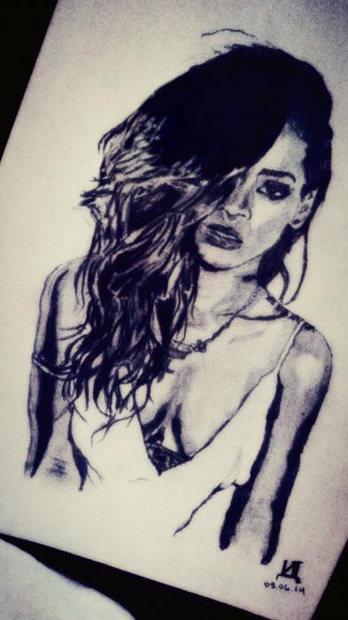 Rihanna by ivadell